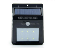Solar Power Outdoor Garden Light LED Fence Wall bracket light fitting portable solar led light