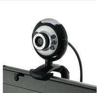 2016 new wholesale USB 2.0 6 LED PC HD 10x Digital Zoom Webcam Laptop Camera