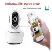security IR Night Vision Pan &Tilt wireless 720p indoor wifi ip camera