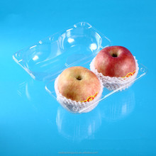 disposable plastic fruit packing tray,apple/orange packing container