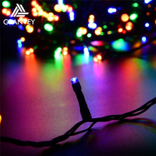 Xmas decorative outfit holiday projector solar power led string christmas decorations light