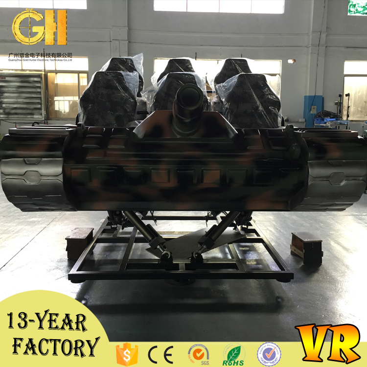 Factory wholesale 6 seats 9d vr family virtual reality movies games
