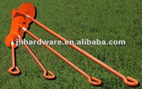 powder coated earth anchor for fence