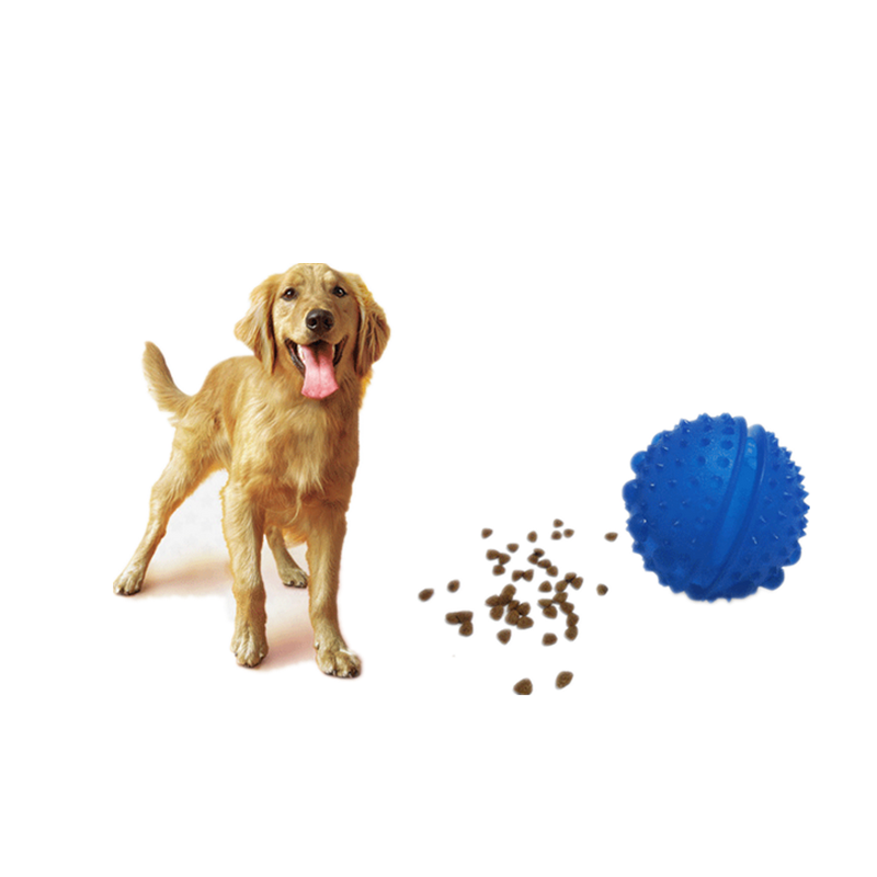Various Color Unique Chew Pet Dog Food Feeding Ball Toy