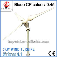 Alternative green power 5kw windmills for electricity