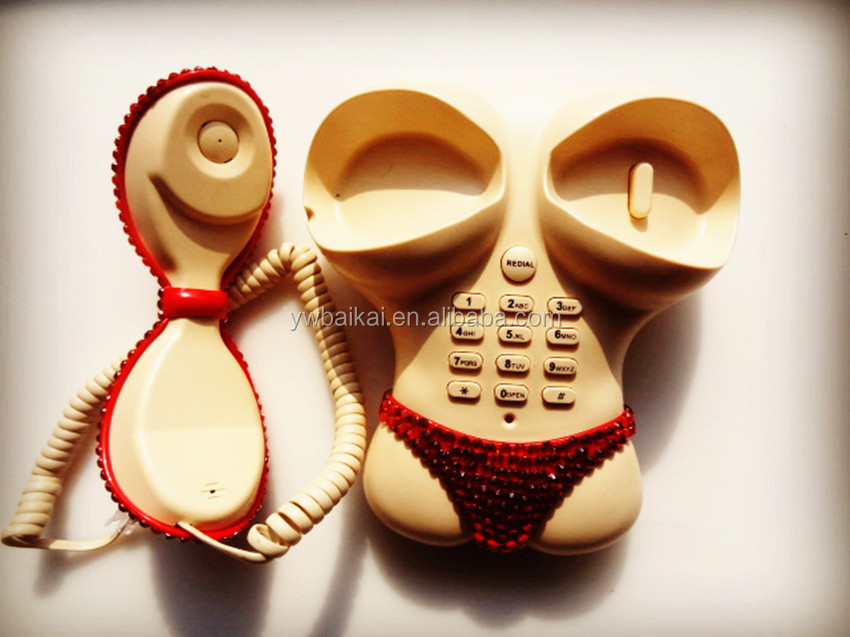 sexy body shape corded telephone for home decoration,Telephone appeal hotel decoration