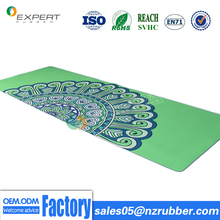 Best quality fashional eco friendly non slip natural rubber yoga mat manufacturer