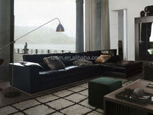 modern synthetic leather sofa set down filled sectional sofas