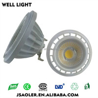 9W G53 gu10 led spotlight dimmable ar111 g53 led