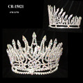 New Fashion Flame Shape AB Full Round Crown
