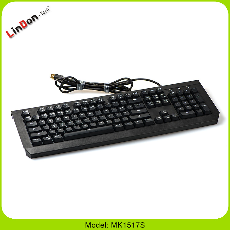 Desktop Application usb led backlit keyboard for Internet Cafe