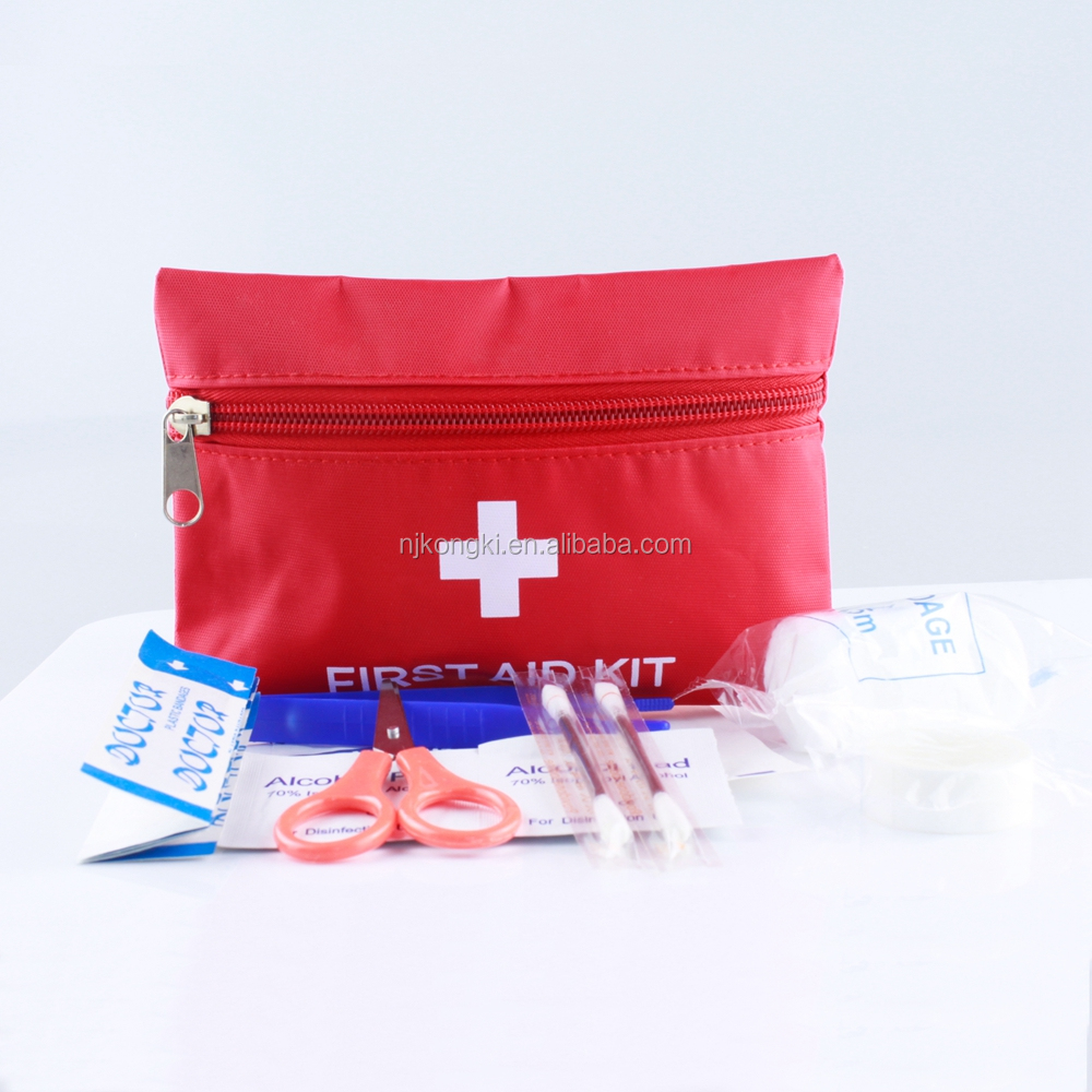 Small size emergency car first aid kit