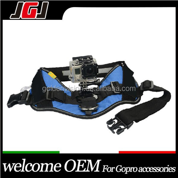 Dog Harness Chest Strap for Gopro 4/3+/3/2/1 Camera Use