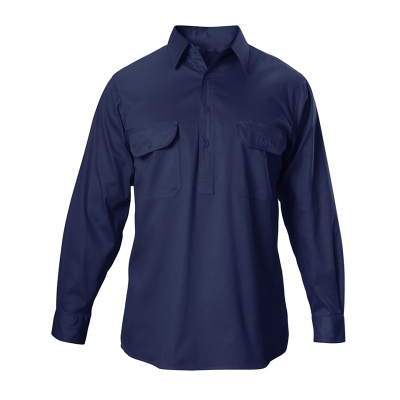 High Quality Good Price Chinese Style Men Work Shirts