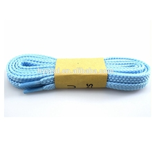 Wholesale polyester braided elastic fat reflective shoelaces