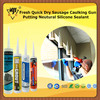 Fresh Quick Dry Sausage Caulking Gun Putting Neutural Silicone Sealant