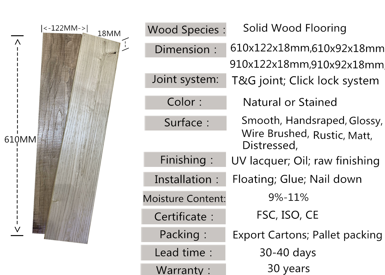 Natural wood grain indonesia merbau hardwood flooring