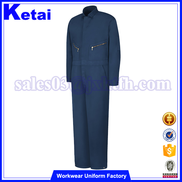 NFPA2112 blue flame-retardant security company coverall uniforms