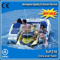 SANJ combined fishing boats for sale matched with Yamaha,seadoo jet ski