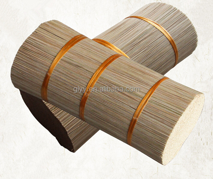 Yongyi Natural 1.3MM Round Bamboo Sticks for Incense