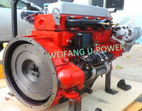 3000rpm 4 cylinder water cooled diesel engine for water pump set