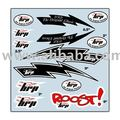 HRP Original Classic Sticker Set