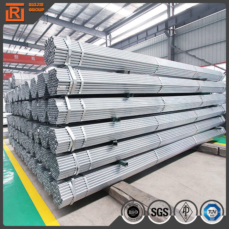 Diameter 48.3mm scaffolding pipe specification, bs1139 galvanized scaffolding pipe length