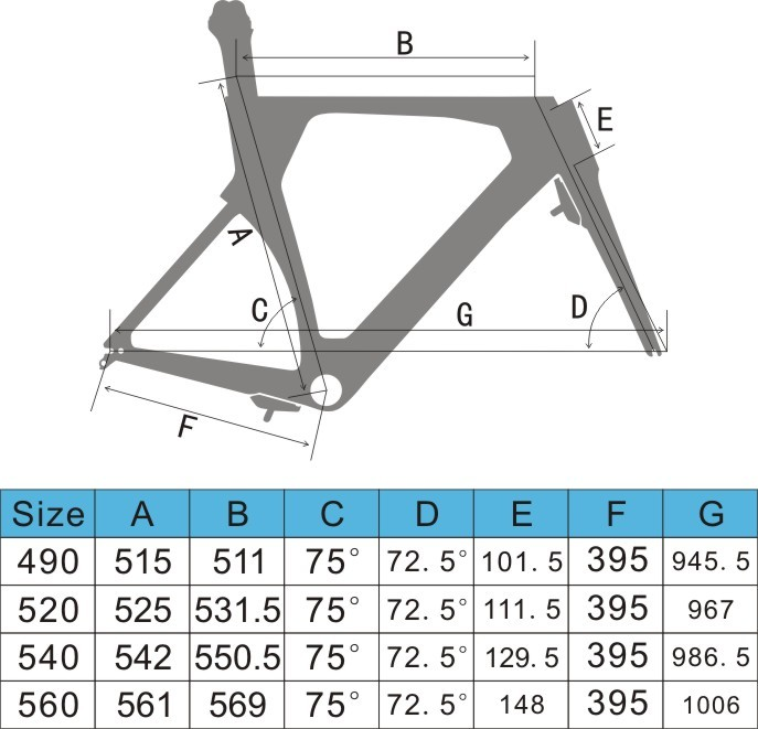 Chinese Tantan bike TT FM086 carbon bike frame bicycle time trial frame sale