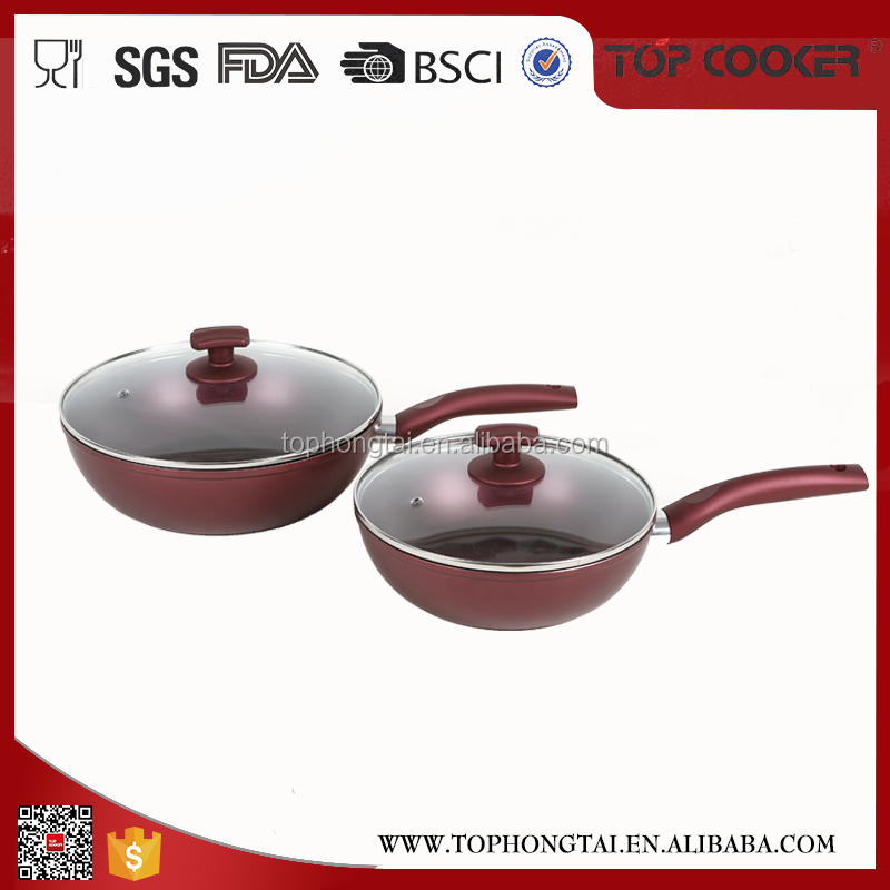 Best Cheap hand pounded wok pan