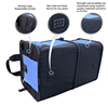 Portable Folding Auto Trunk Organizer Multipurpose Expandable Storage Cargo for Vehicles Trucks plus Backseat Car Organizer