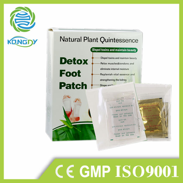 2014 Best Selling New product , 100% Natural Chinese Herbal and Bamboo Slimming Detox Foot Patch