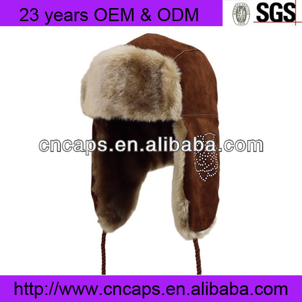 Faux Fur Hat/Trapper Hat/Winter Hat