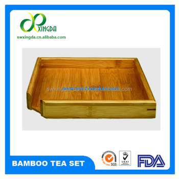Portable Bamboo Tea Tray
