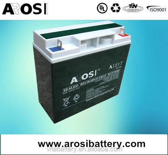 Arosi 12v 55ah, Low self-discharge, Excellent Safety Performance Battery led lamp with Battery