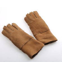 Factory Cheap Fur Gloves Buyer Leather Gloves for Woman