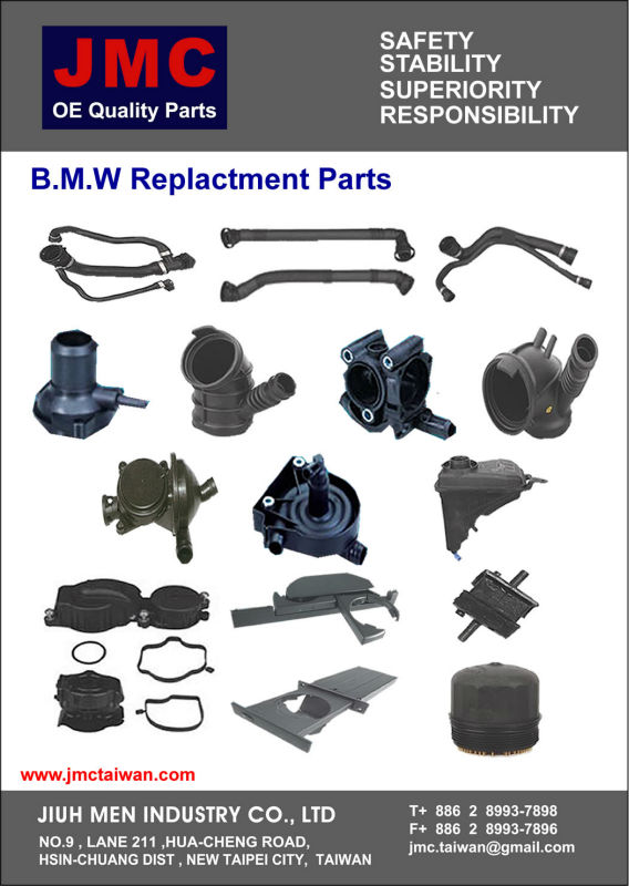 JMBW Replacement parts Feed Pipe For Alternator Mounting for BMW E65 E66 E67 E68 12311439988