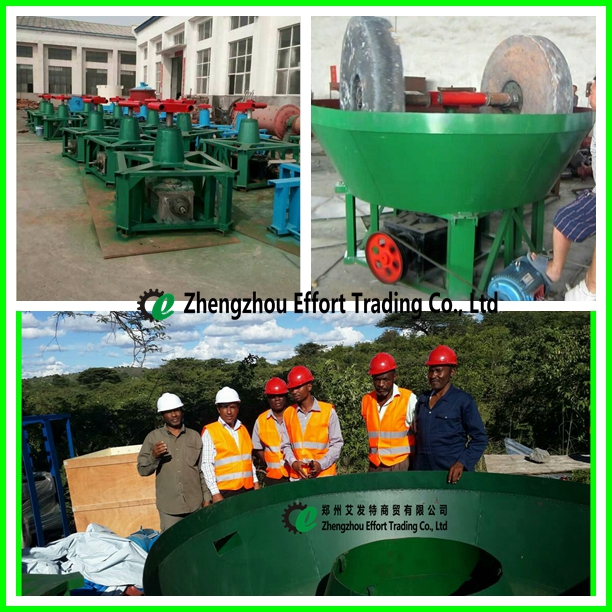 Top quality gold wet pan mill, wet pan grinding mill, wet grinding pan mill