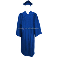 Matte Childrens Graduation Cap and Gown