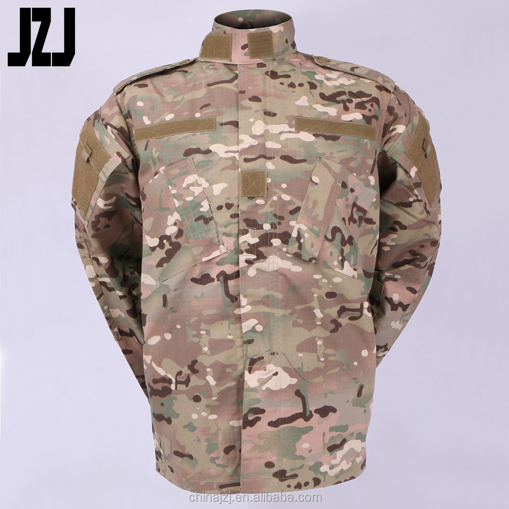 Tactical ACU Universal Camo Army Uniform Men's Camouflage Clothing Jack Military Combat Suits