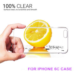 For iphone 6C Mobile accessories, for iphone 6C case; 0.3mm Ulta Thin Clear Transparent TPU protective Cover