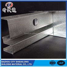 Profession manufacturer top quality wall protection steel stud sizes metric