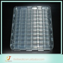 2015 New Design High Quality transparent disposable plastic trays for sushi