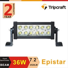 Hot selling cheap and reliable quality 36w 7.5 inch led off road light with Spot Flood beam