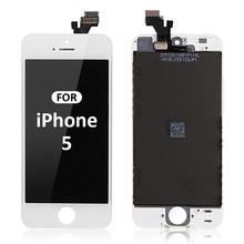 Factory price for iphone 5 lcd touch screen with digitizer assembly,White/black color for iphone 5 lcd,HC/original for iphone 5
