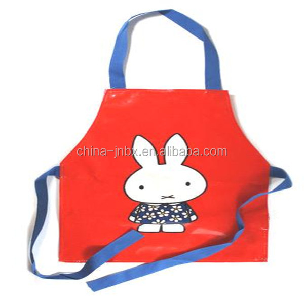 China wholesaler PVC kid apron