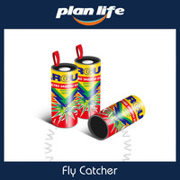 Hot Selling Fly Catcher Ribbon Paper Glue Hanging Fly Trap for Middle East