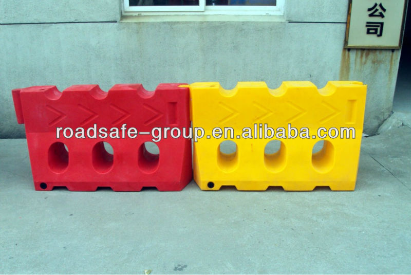 RSG high quality colorful road water filled barrier