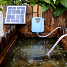 Mini Solar Air Pump for Fish Tank