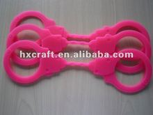 Hot Sale Fashion Unique Design Full Color Silicone Handcuffs