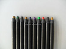 Color pencil, black paper color pencil for drawing
